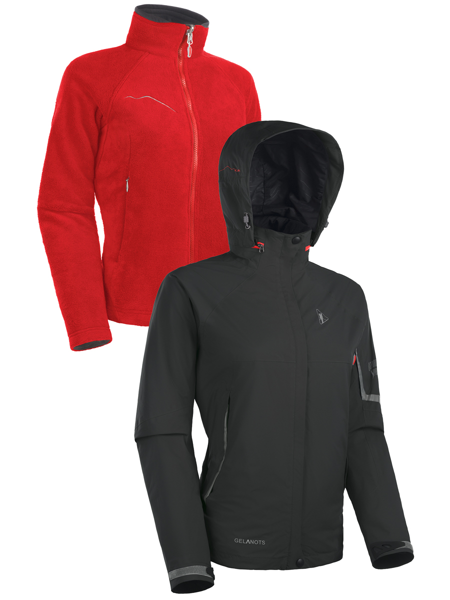 Купить Мембранная куртка BASK KAMI LJ Lady черный, Компания БАСК