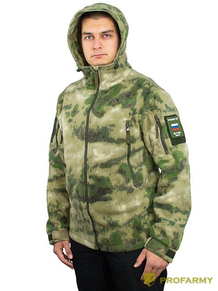 Куртка флисовая SHERPA PF3-72 A-Tacs FG, Куртки из Polartec и флиса - арт. 1053210330