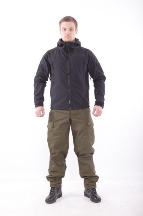Куртка Keotica Патриот Softshell черная, Куртки - арт. 984470156