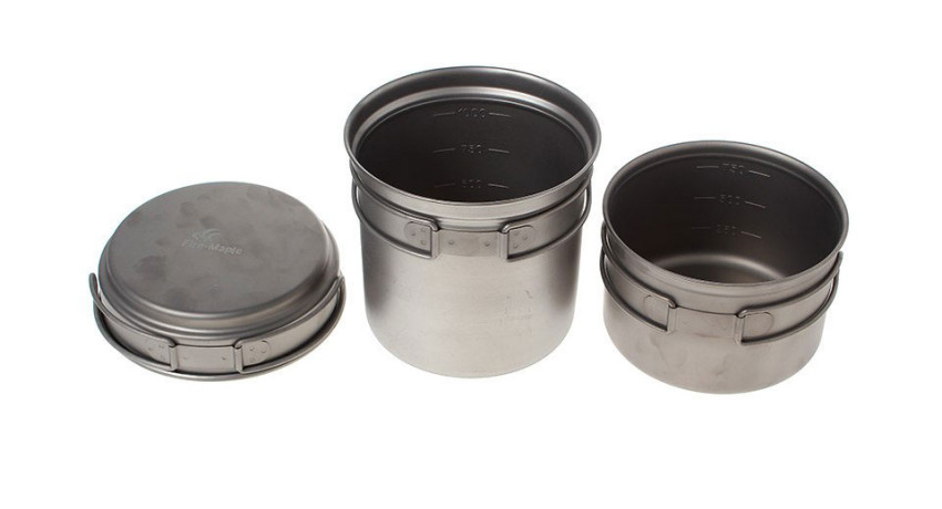 Набор титановой посуды на 2-5 человек Horizon 2 Horizon 2 - артикул: 827700196