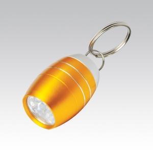 Купить Брелок Светодиодный фонарик в виде бочки (упак=10 шт), 1082, Munkees