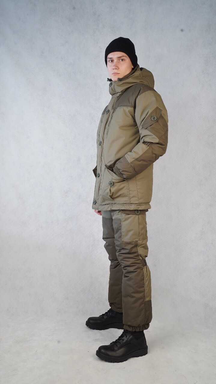 Костюм мужской Nordwig Donbass зимний т.Таслан Добби Олива, Зимние костюмы - арт. 926290258