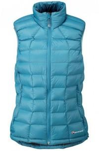 Жилетка пух. жен. ANTI-FREEZE VEST, XS maya blue/steel, FANVEM