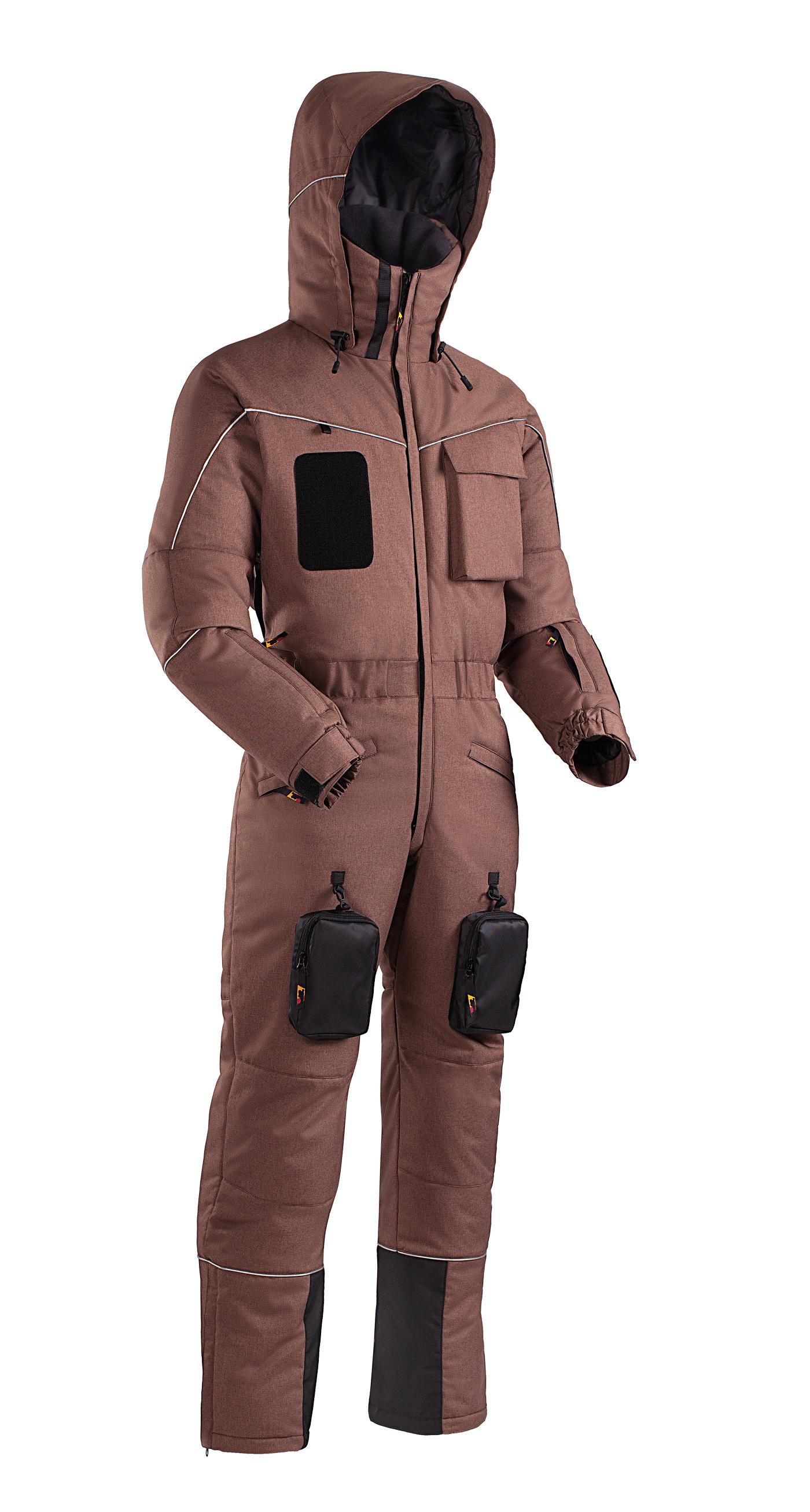 Купить Комбинезон утепленный BASK ROPE WORKER SUIT коричневый, Компания БАСК