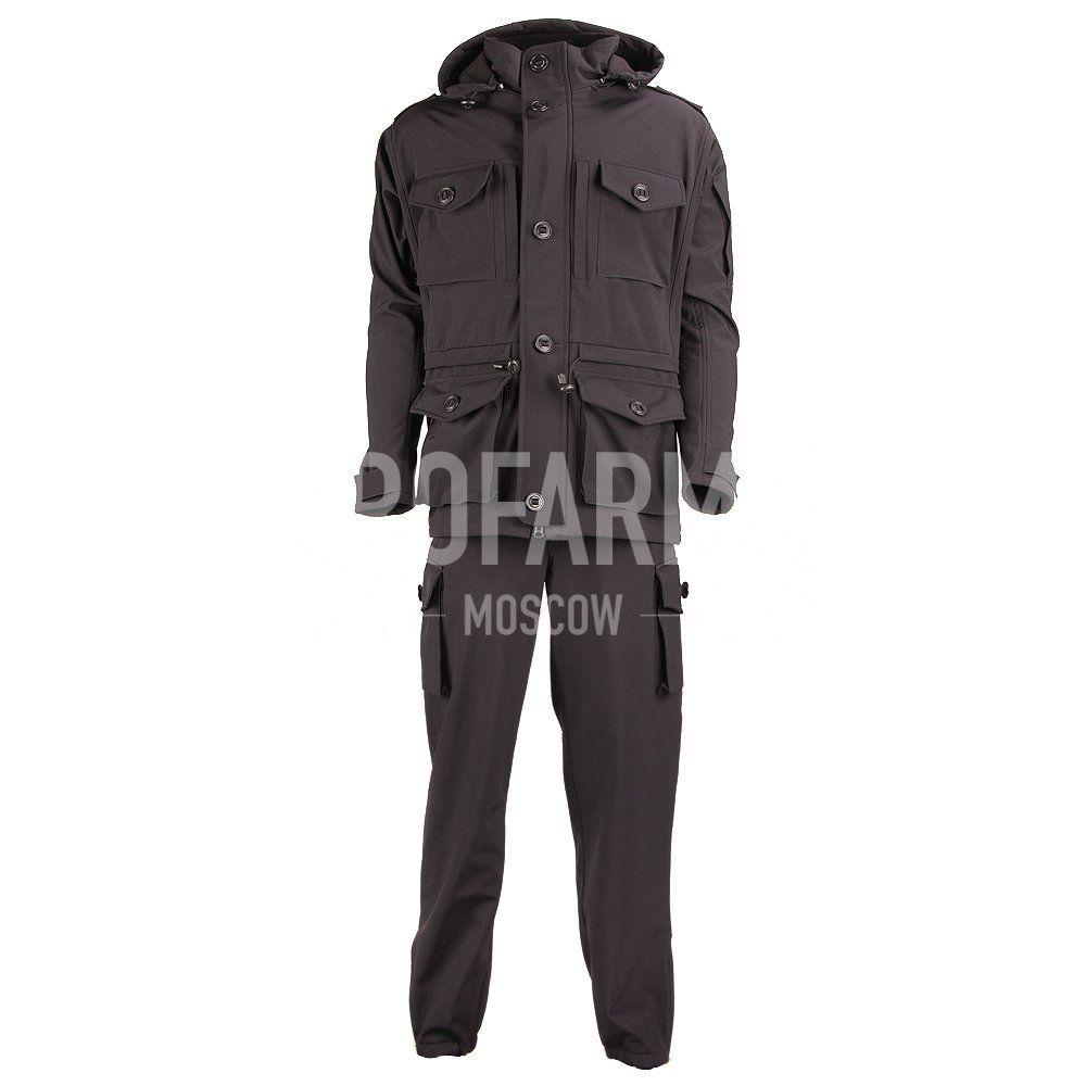 Костюм Смок-4 Softshell черный, Тактические костюмы - арт. 1051840259