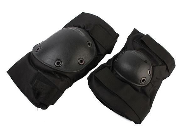 Комплект наколенники и налокотники SWAT Black WS20155B, Тактическое - арт. 1050390195