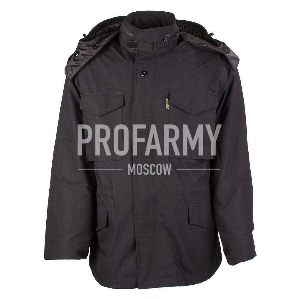 Куртка М-65 в комплекте RipStop (черный), Тактические куртки - арт. 899710335