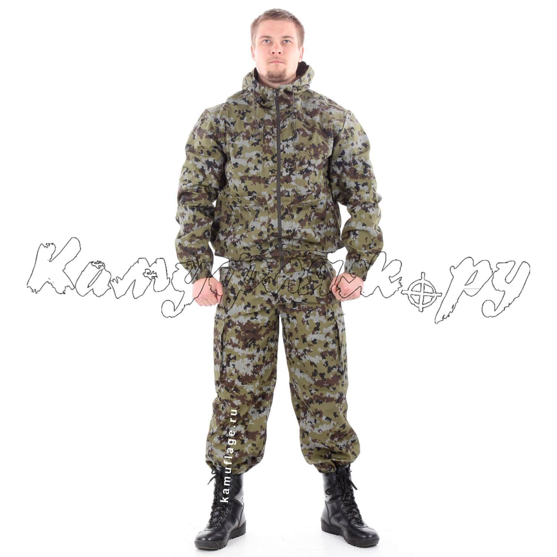 Костюм Тактика-2 рип-стоп пограничная цифра, Тактические костюмы - арт. 1016000259