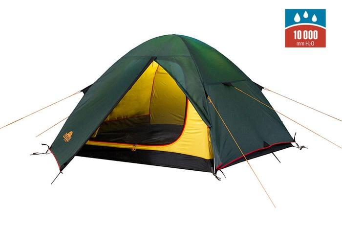 Палатка SCOUT 2 Fib green, 9121.2201, Палатки двухместные - арт. 1027220320