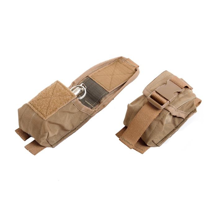 Подсумок KE для гранаты с открытой крышкой Coyote