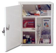 Аптечка промышленная ФЭСТ (пластик. шкаф) - артикул: 496650302
