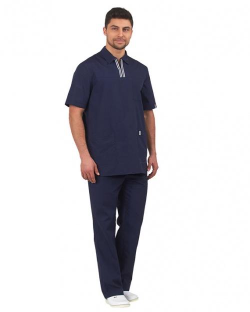 Костюм мужской  Эра  темно-синий, Медицинские костюмы - арт. 769230249