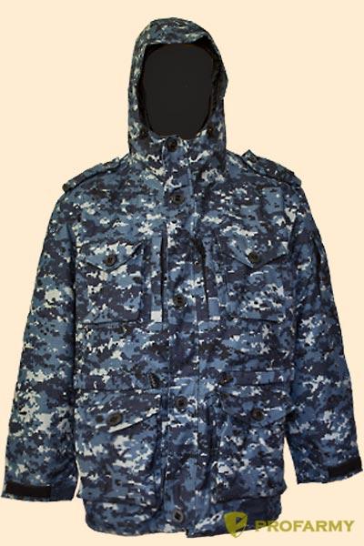 Куртка Смок-3 синяя цифра - артикул: 865660335