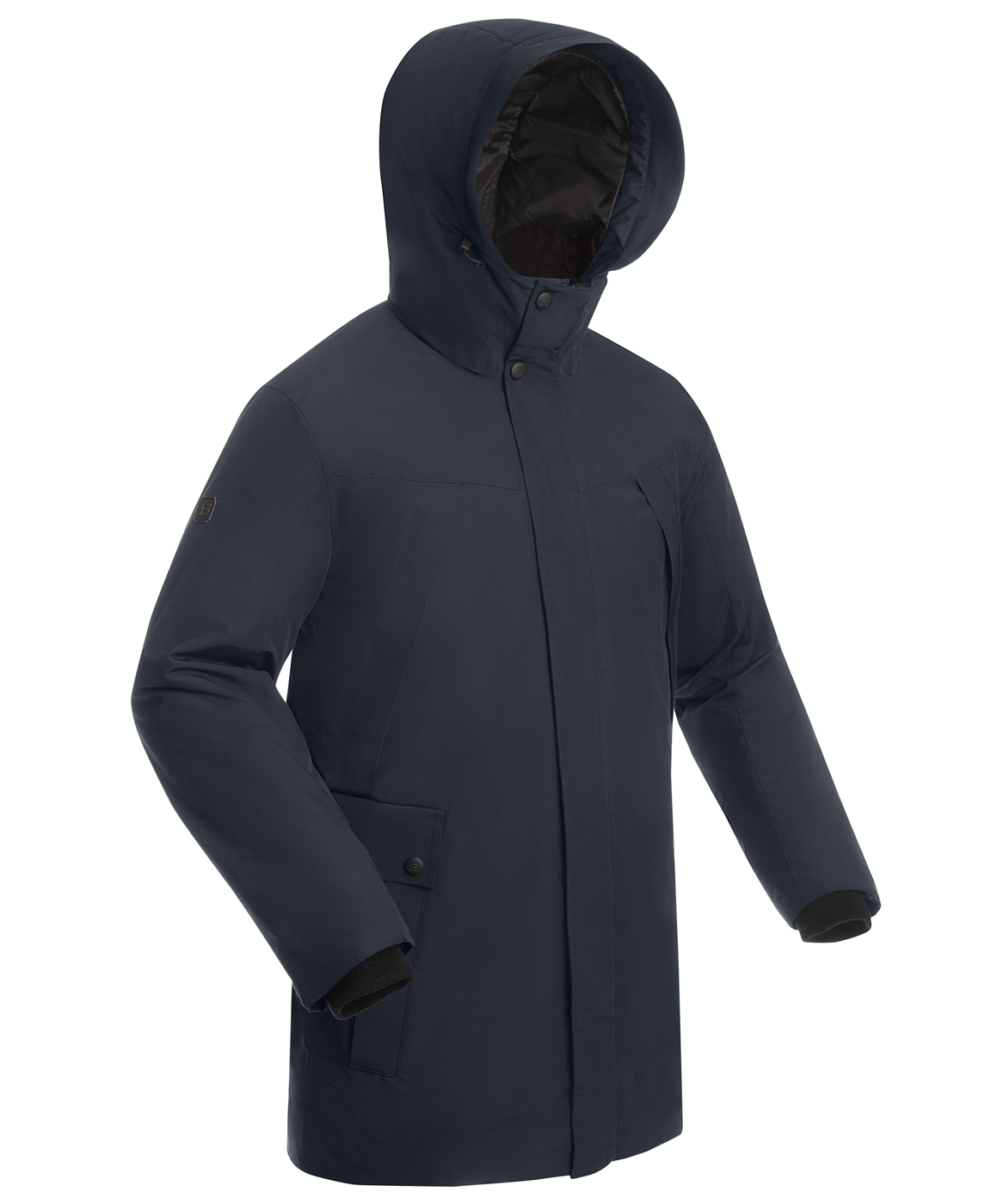 Купить Пальто утепленное мужское BASK MARS синий тмн, Компания БАСК