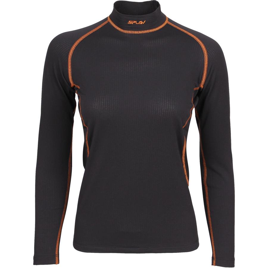 Термобелье женское Energy футболка L/S Thermal Grid light черная, Футболки - арт. 1070390179