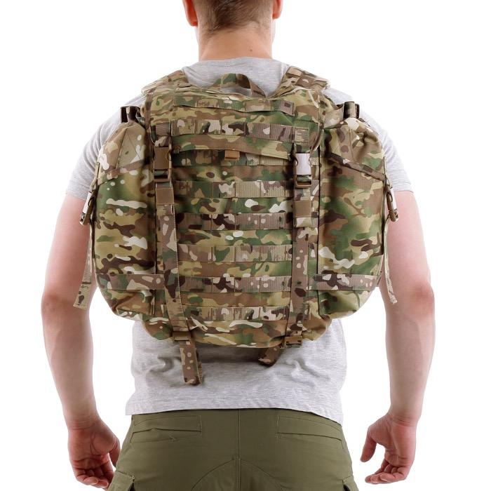 Ранец патрульный УМБТС 6ш112 25 литров Cordura 1000 Den multicam со стропами multicam, Тактические рюкзаки - арт. 991890264