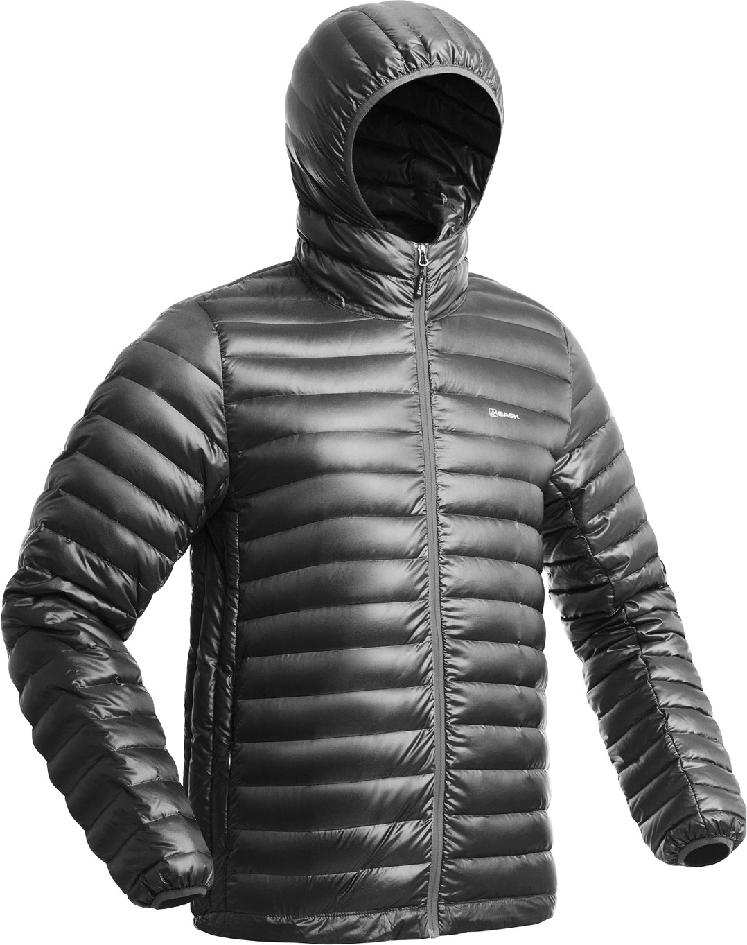 Куртка пуховая BASK CHAMONIX LIGHT MJ серая, Куртки - арт. 1149360156