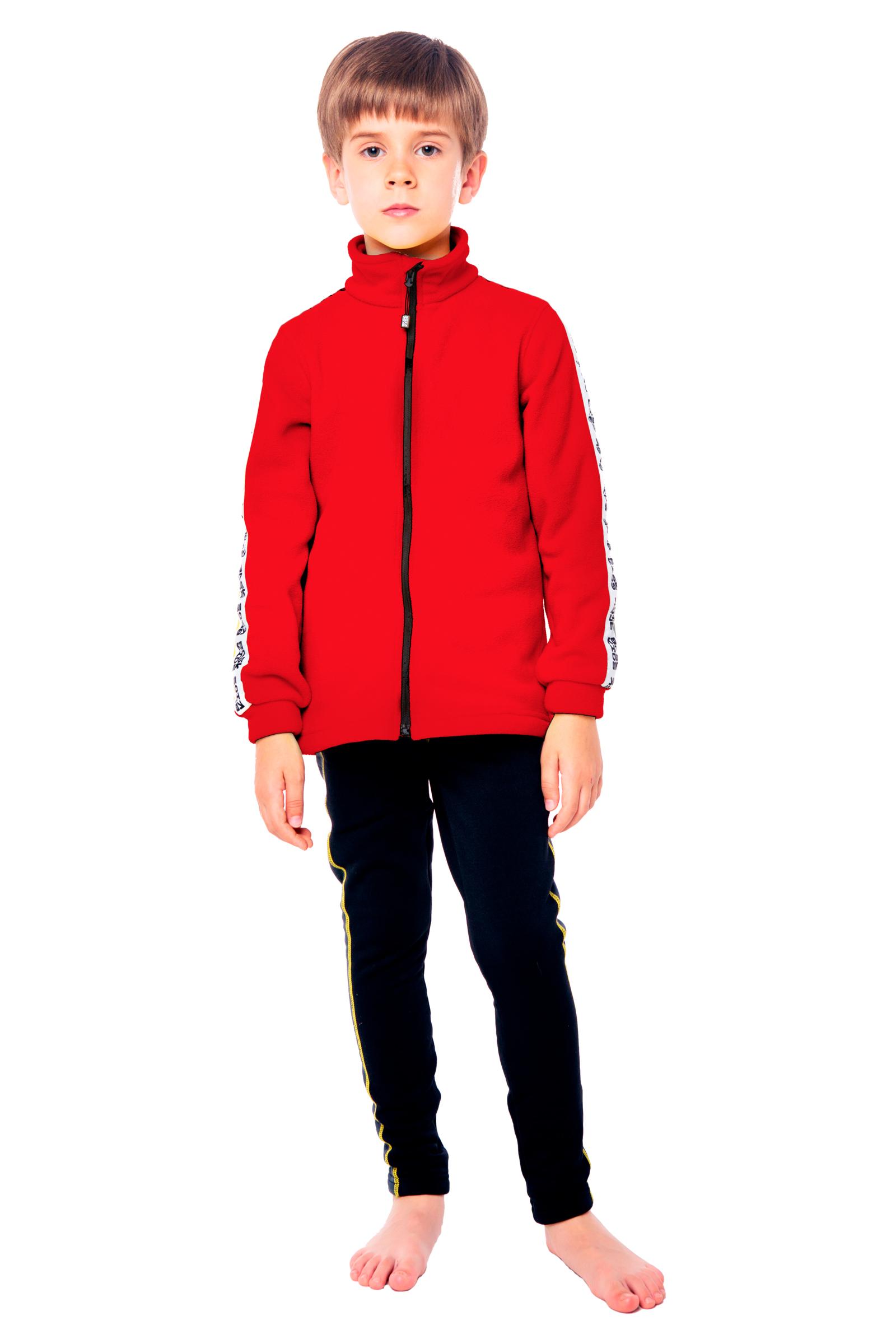Купить Куртка флисовая детская BASK kids PIKA красная, Компания БАСК