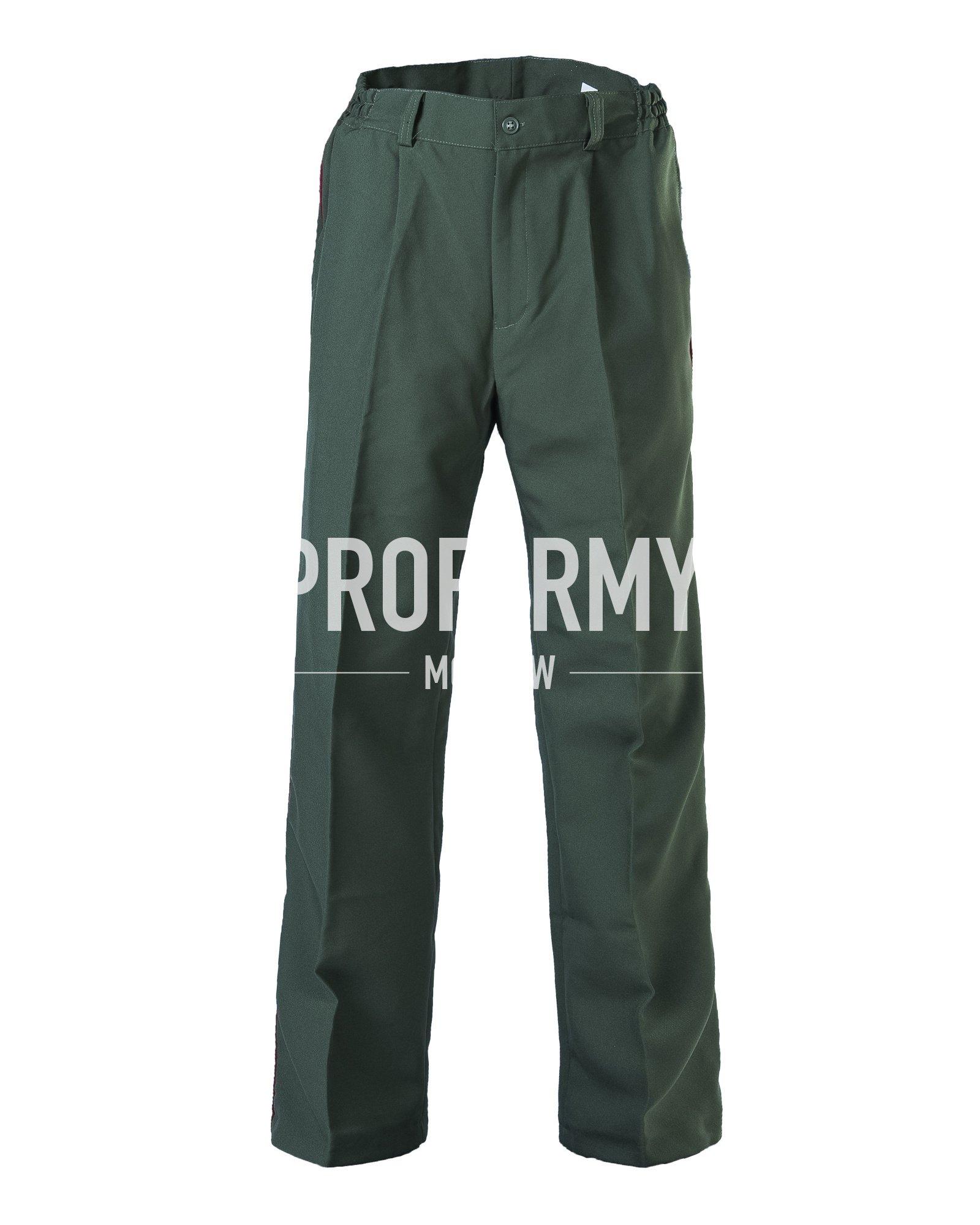 Брюки ВВ габардин хаки, Форменные брюки - арт. 861380347