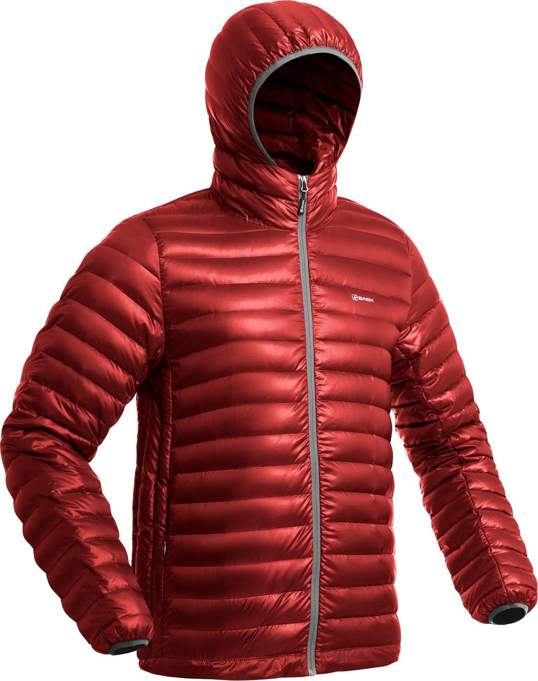 Куртка пуховая BASK CHAMONIX LIGHT MJ красная, Куртки - арт. 1149350156