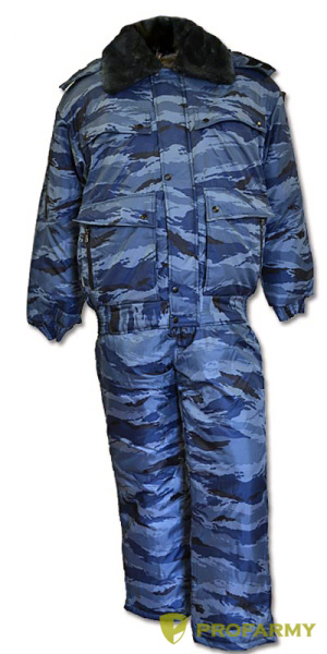 Костюм Святогор зимний Оксфорд (Синий камыш) - артикул: 860220258