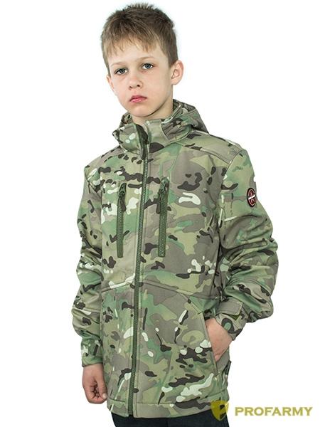 Куртка детская Softshell TURBO мультикам, Куртки из Softshell и Windbloc - арт. 1052590329