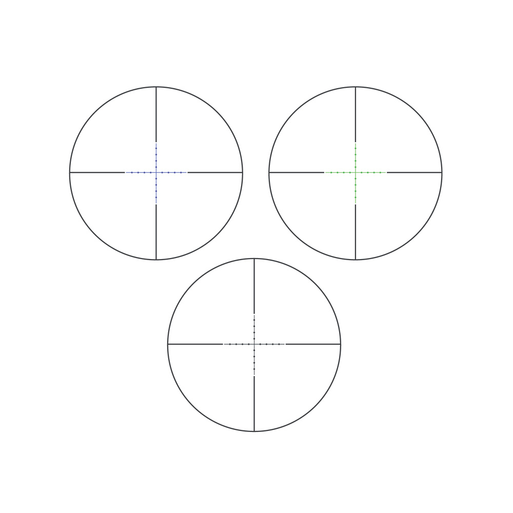 Прицел оптический Veber Wolf 3-9*42 IR - артикул: 924650442