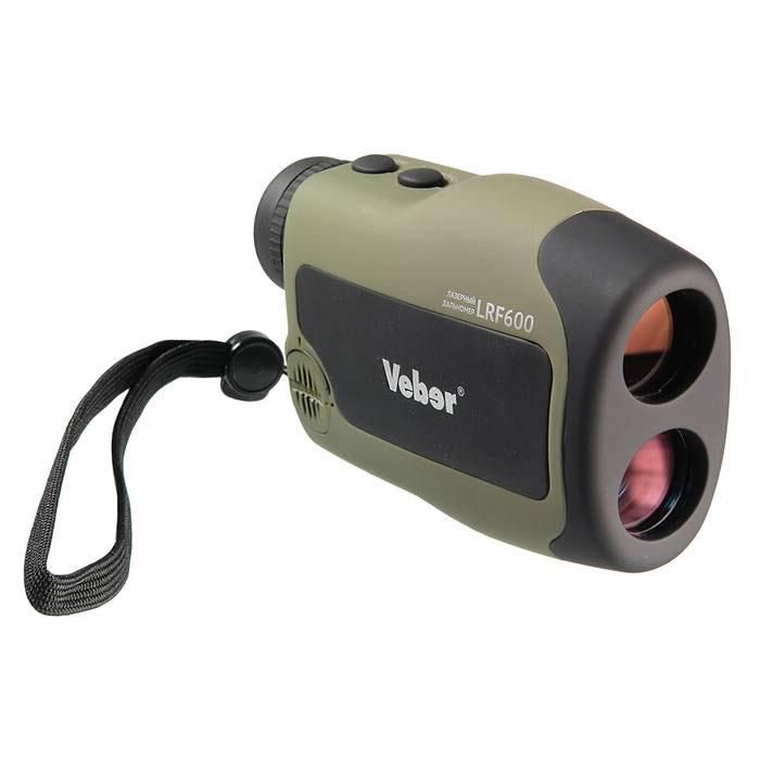 Лазерный дальномер Veber 6x25 LRF600 green, Прицелы и дальномеры - арт. 763220442
