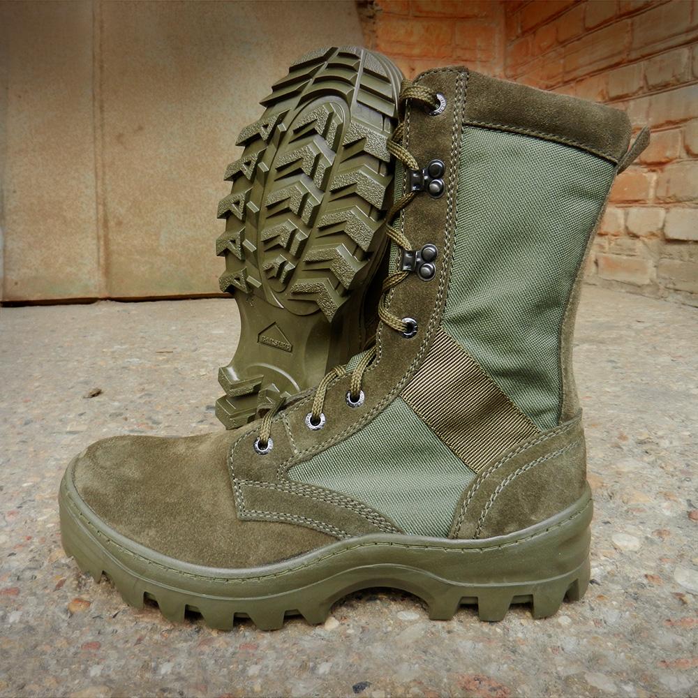 Ботинки с высокими берцами Garsing 516 О SHOT OLIVA