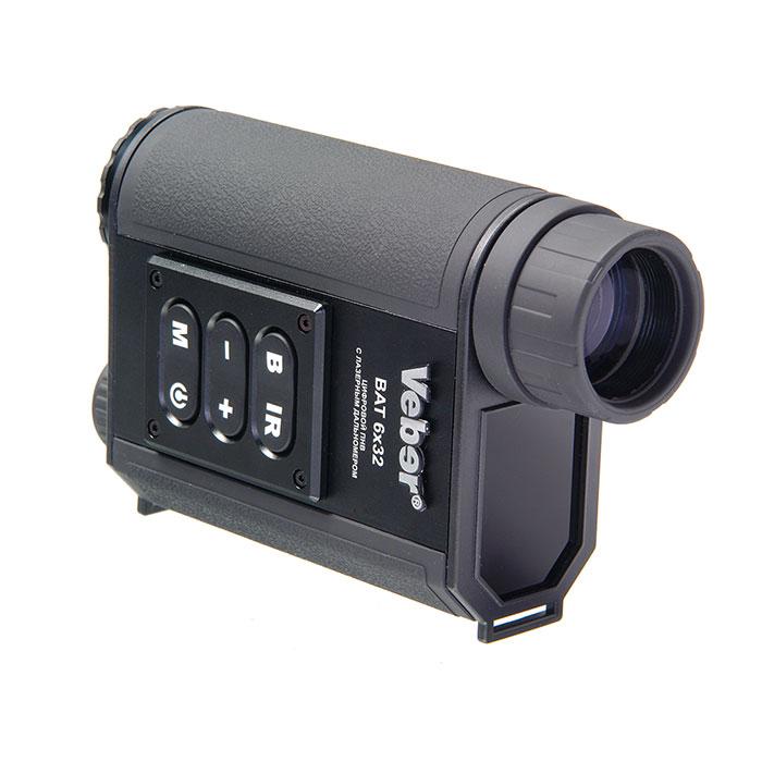 Монокуляр цифровой ночного видения Veber Bat 6x32 c дальномером, Приборы ночного видения - арт. 761320444