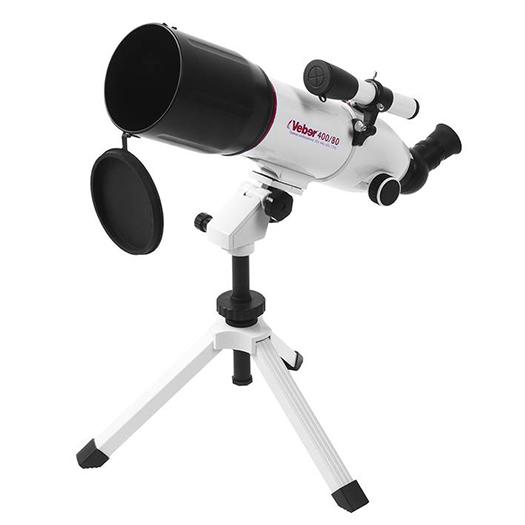 Телескоп Veber 400/80 Аз Белый, Телескопы - арт. 758900441