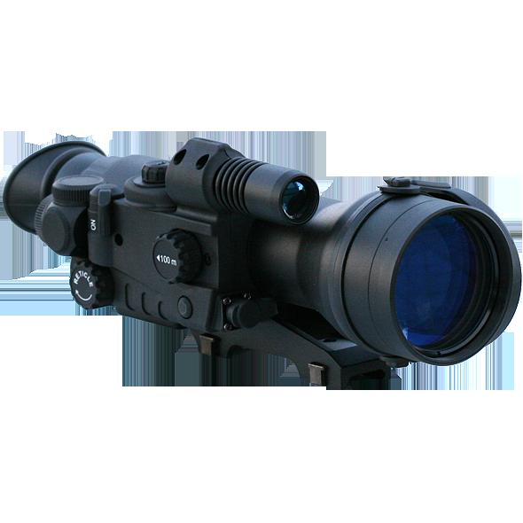 Прицел ночного видения Yukon Sentinel 3x60L (26018WLT) Weaver Long, Приборы ночного видения - арт. 761070444
