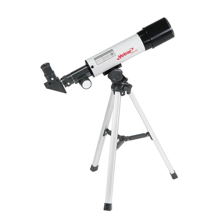 Телескоп Veber 360/50 рефрактор в кейсе, Телескопы - арт. 758890441