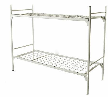 Кровать двухъярусная металлическая, порошковое покрытие