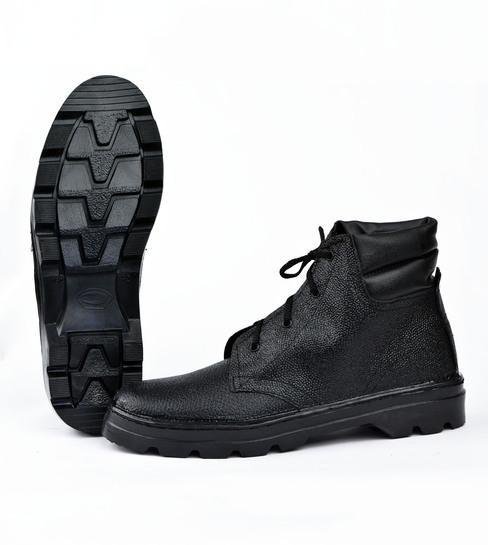 Ботинки бортопрошивные комбинированные на искусственном меху