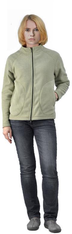 Флисовая женская куртка