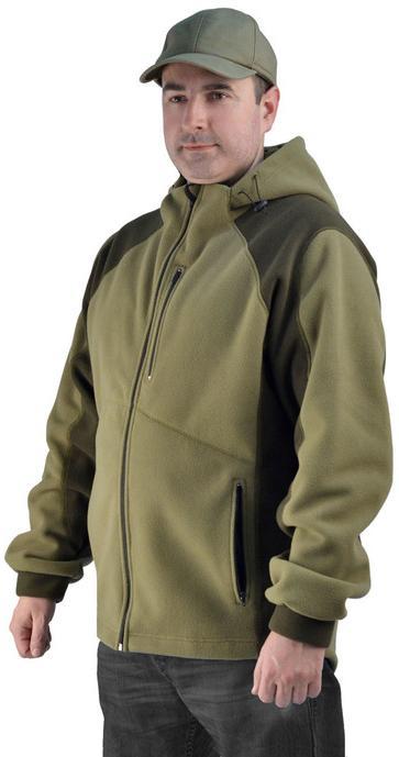 Флисовая мужская куртка