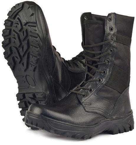 Ботинки с высоким берцем комбинированные  Вымпел , Ботинки с высокими берцами - арт. 520970245