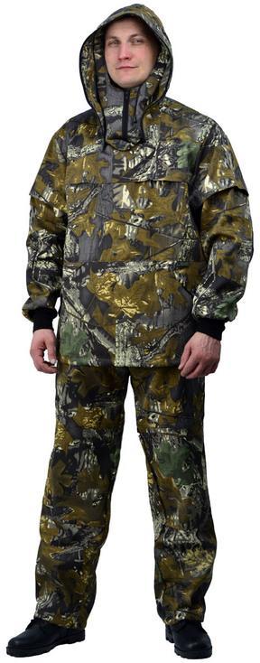 Костюм противоэнцефалитный летний, ткань грета, камуфляж Дубок - артикул: 522320241