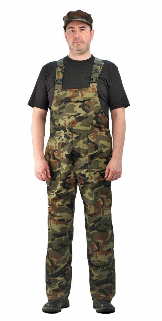 Полукомбинезон мужской Дрегер, камуфляж, ткань грета нато
