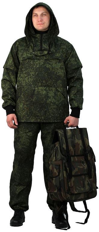 Костюм противоэнцефалитный летний, ткань грета, камуфляж Пиксель - артикул: 527560241