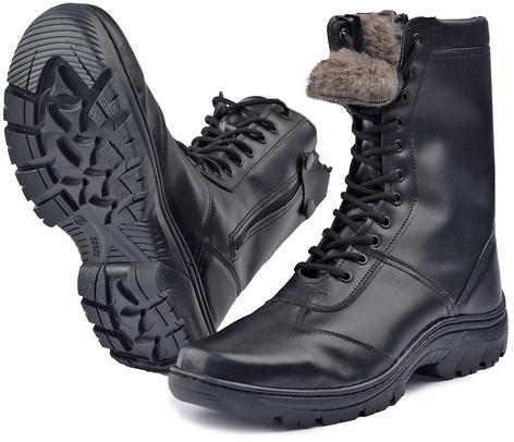 Ботинки с высоким берцем  EXTRIME-NORD  на молнии, натуральная шерсть, Ботинки с высокими берцами - арт. 521050245