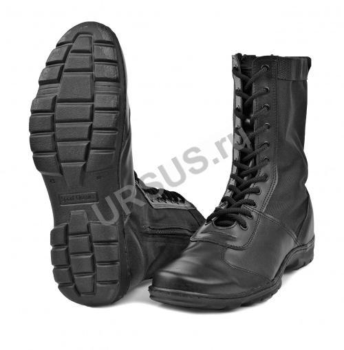 Ботинки с высоким берцем комбинированные