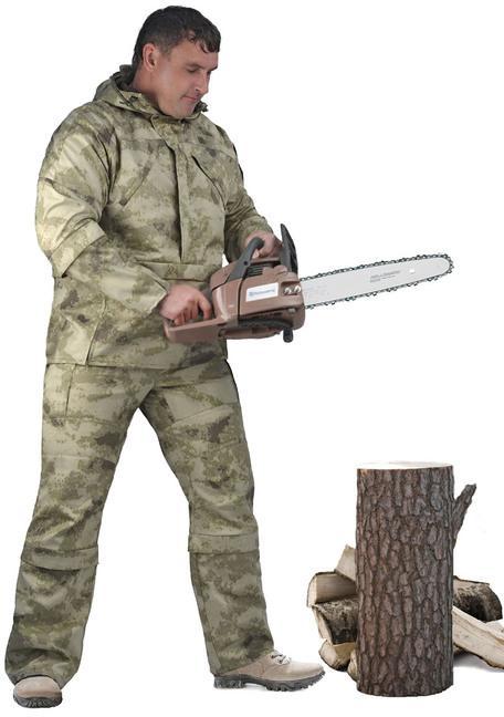 Костюм мужской  Gerkon Protector  летний, камуфляж т.Смесовая  Облако  - артикул: 522890241