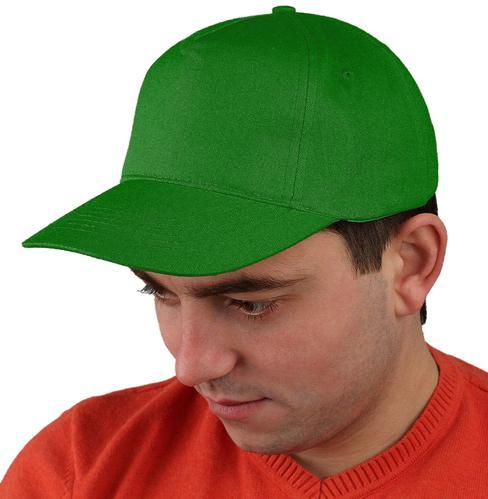 Бейсболка т-зеленая