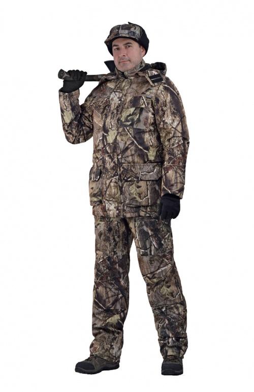 Купить Костюм мужской Nordwig Buran демисезонный, камуфляж, ткань Алова Осенний лес , Ursus