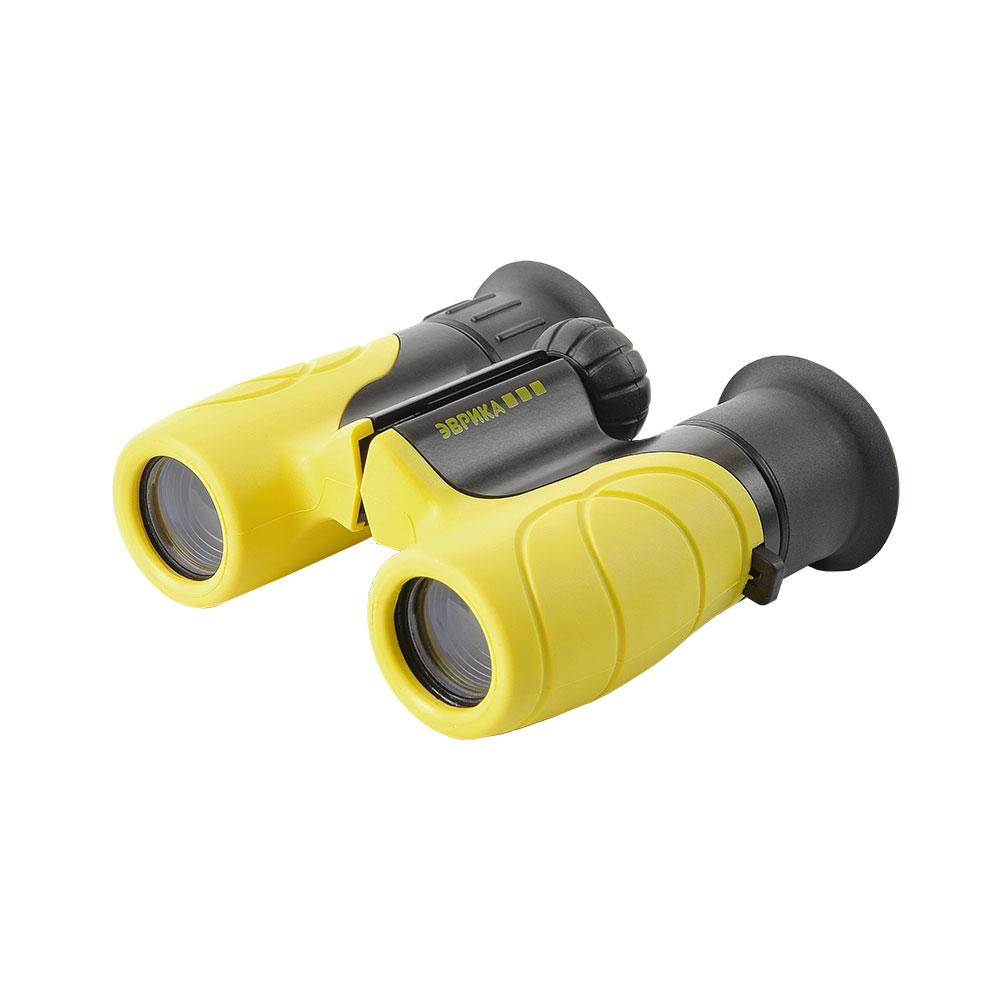 Бинокль детский Veber Эврика 6x21 Y/B (желт/черн), Бинокли - арт. 1127870305