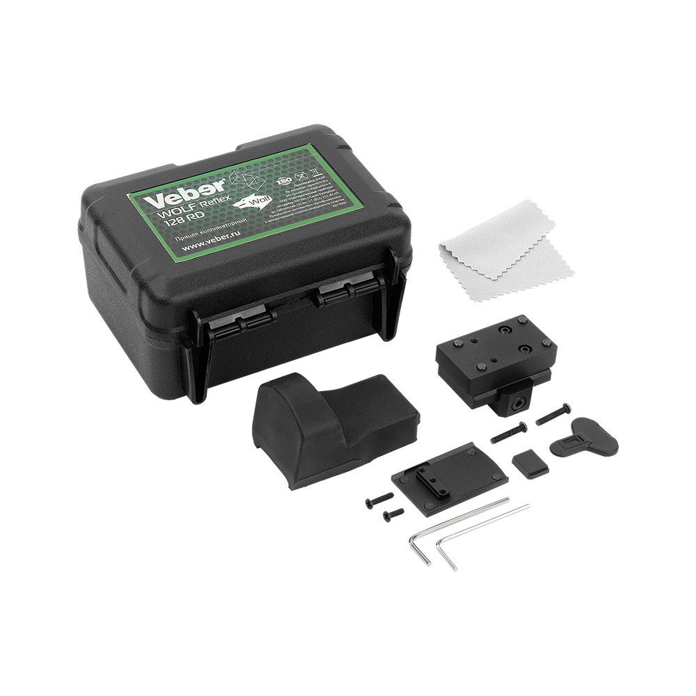 Прицел коллиматорный Veber Wolf Reflex 128 RD, Прицелы и дальномеры - арт. 1123420442