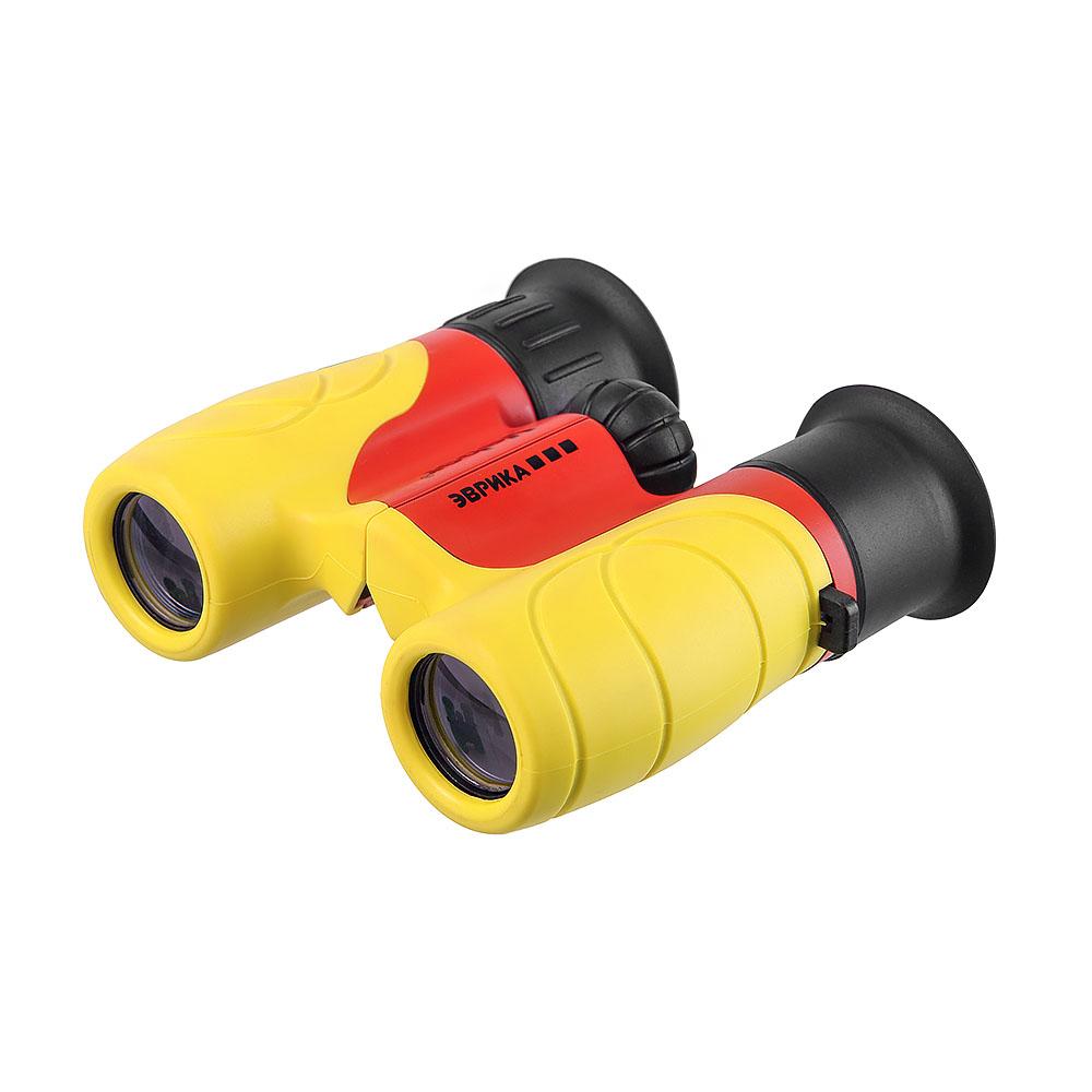 Бинокль детский Veber Эврика 6x21 Y/R( желт/красн), Бинокли - арт. 1132530305