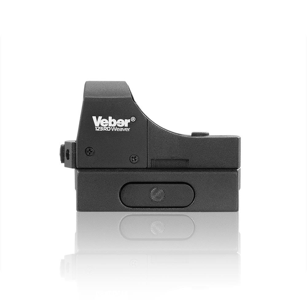 Прицел коллиматорный Veber Black Fox 123 RD Weaver, Прицелы и дальномеры - арт. 1018860442